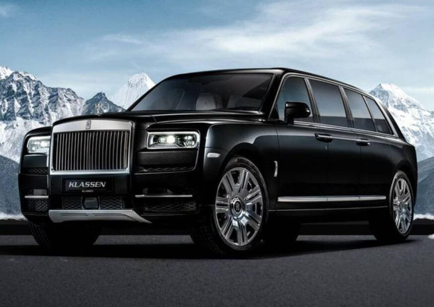 Rolls-Royce Cullinan A Bombproof Limo