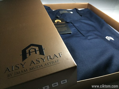 packaging kurta aisy asyraf