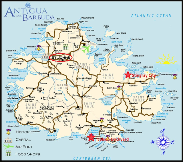 How Long To Drive Around The Island Of Antigua