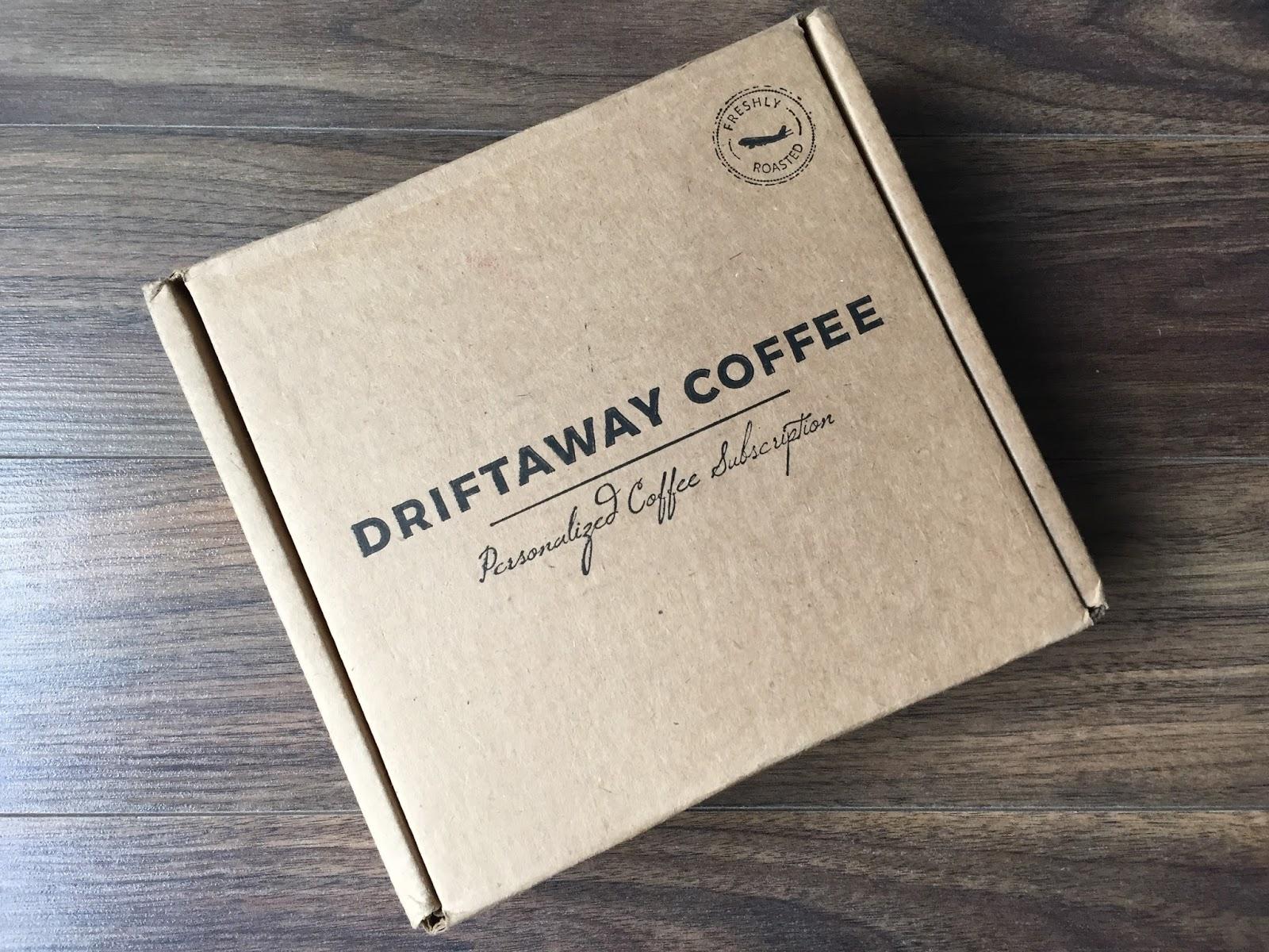 Driftaway coffee review november 2017 coffee subscription box reheart Choice Image
