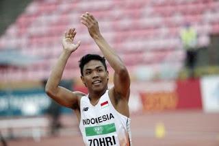 Biodata Lalu Muhammad Zohri - Juara Dunia Lari 100 Meter dari Indonesia