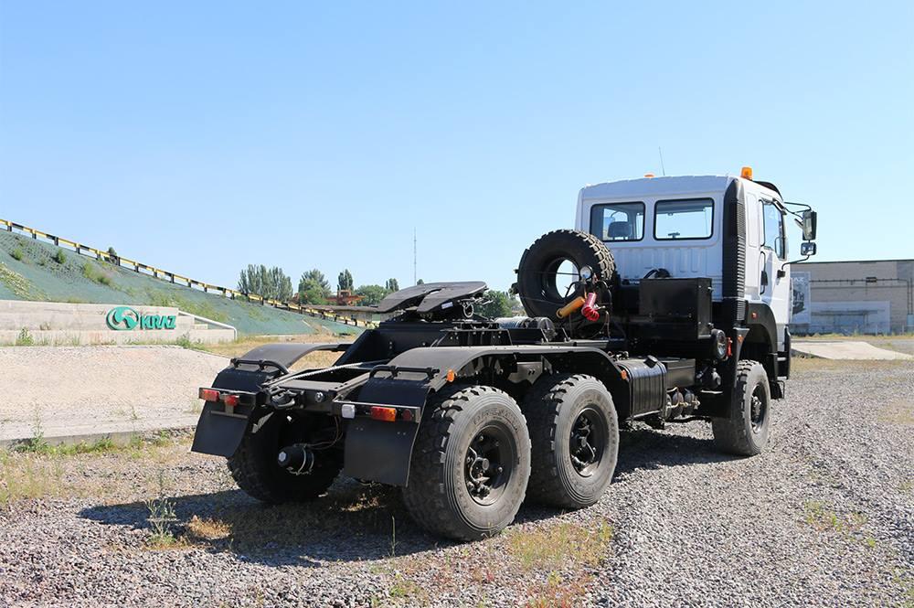 повнопривідний сідельний тягач КрАЗ-6510ТЕ (6х6)