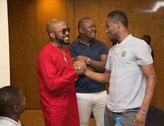 Banky W meets Mikel Obi