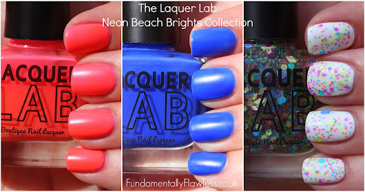 The Lacquer Lab: Neon Beach Brights Collection Review