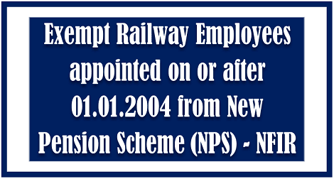 exemption-of-railway-emp-from-NPS-govempnews