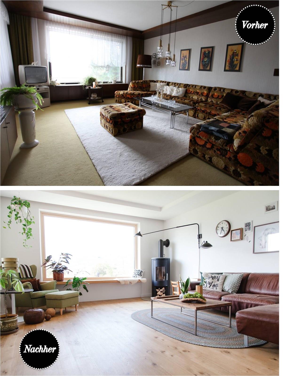 vorher nachher mein lieblingsraum unser wohnzimmer gro es esszimmer einrichten. Black Bedroom Furniture Sets. Home Design Ideas