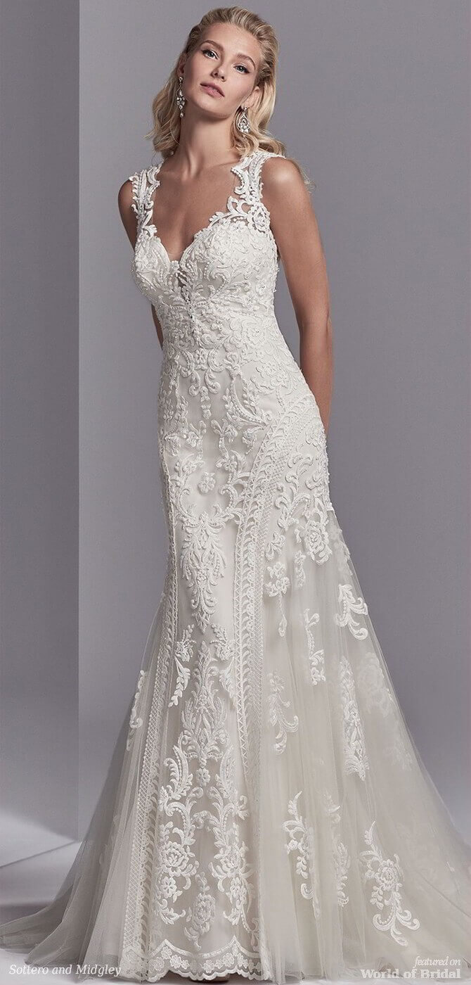2018 spring collection wedding dresses