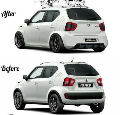 Modifikasi Suzuki Ignis Ceper