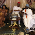 Ooni Of Ife Hosted By Governor Obiano And Wife At Their Lagos Residence. Photo