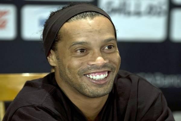 Jogador de futebol Ronaldinho Gaúcho