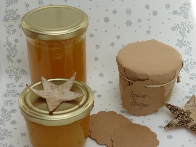 Weihnachtsgeschenke aus der Küche: fruchtig-scharfe Orangen-Ingwer-Marmelade