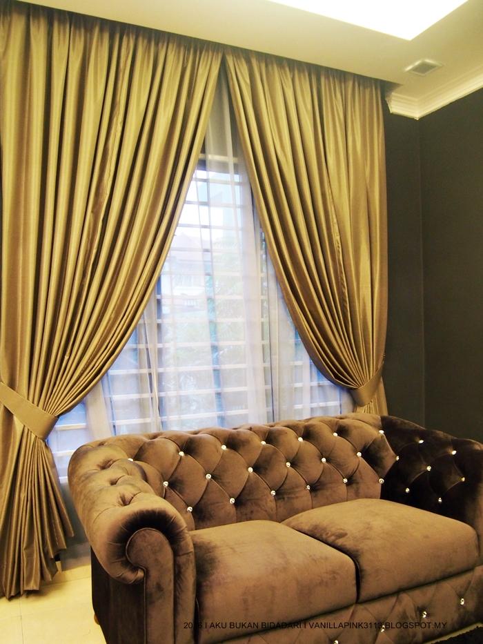 Dekorasi Langsir Ruang Tamu Desainrumahid