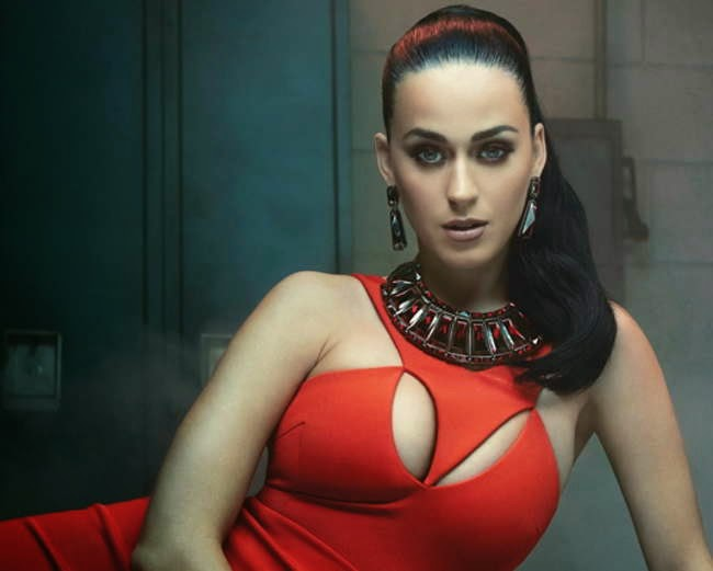 Katy Perry shows off curves for the new Miller Mobley Photoshoot 2015