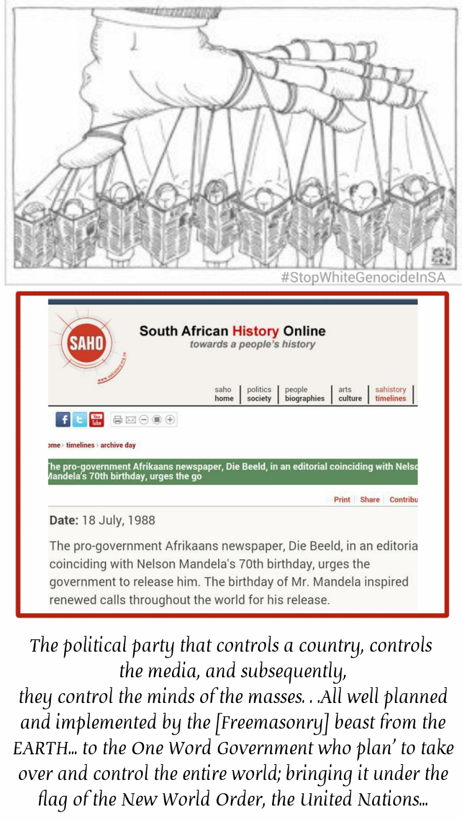 Why the fuss about dismissal journalists in South Africa...?