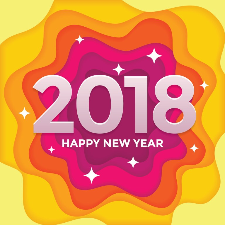 Happy New Year Wallpaper With Quotes: [500+] Happy New Year 2018 HD Wallpapers, Images, Pictures