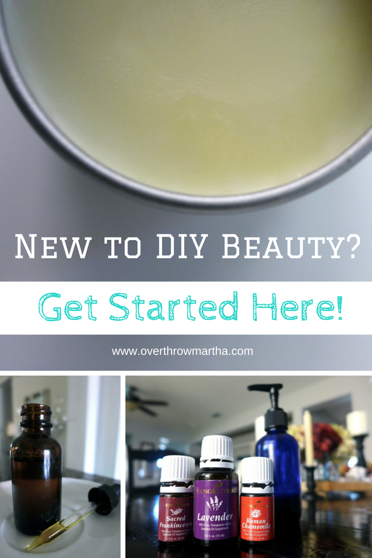 Learn how to get started with DIY beauty the right way. #DIYbeauty