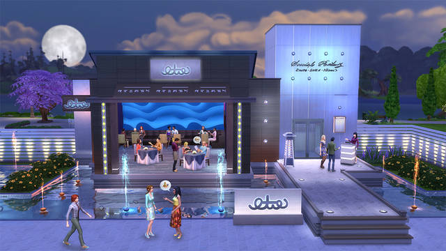 The Sims 4 Dine Out Free Game