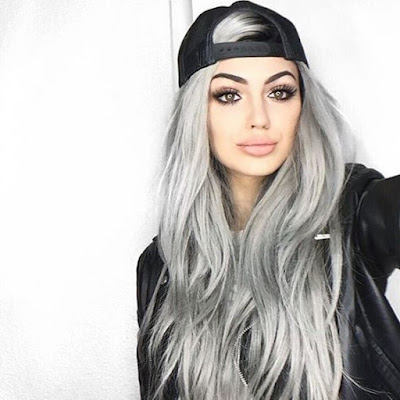 long sexy gray hair