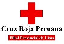 Logo de la Cruz Roja Peruana a color