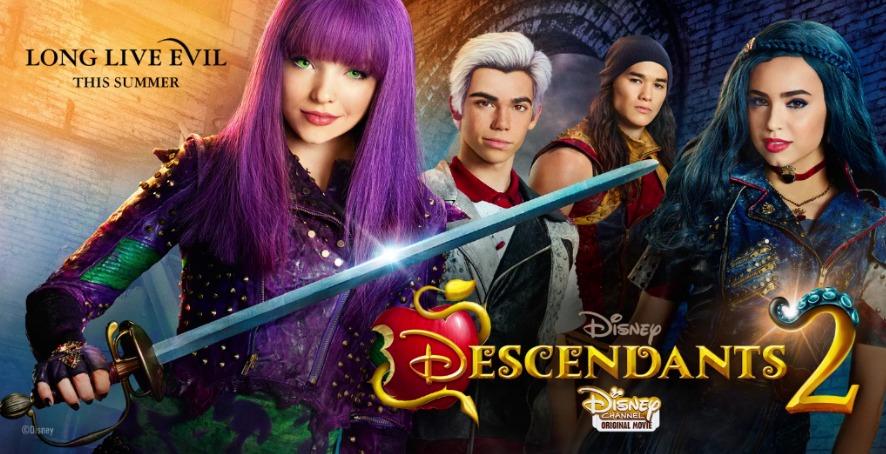 NASTĘPCY 2 już 9 września o 10:00 w Disney Channel!