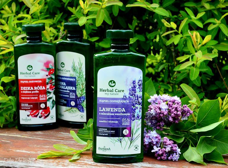 Kąpiel Odprężająca Lawenda z mleczkiem waniliowym Herbal Care Farmona  recenzja
