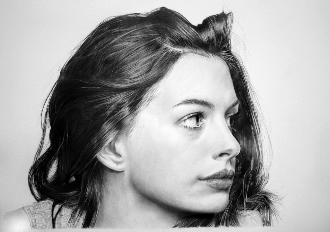 11-Anne-Hathaway-Franco-Clun-Drawings-that-save-the-Expression-and-Personality-of-the-Model-www-designstack-co