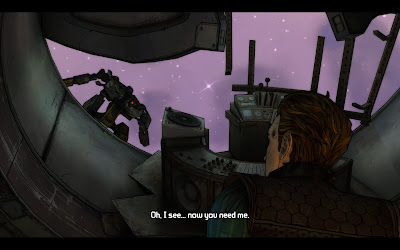 Screenshot from Tales from the Borderlands