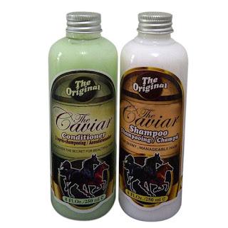 Jual paket shampoo dan conditioner caviar shampoo kuda original dengan harga termurah, dijamin mengatasi rambut rontok dan botak secara cepat alami.