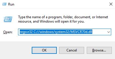 Télécharger MSVCR70d.dll Fichier Gratuit Installer