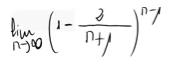 38. Límite de una sucesión (ind. inf. menos inf.) 1