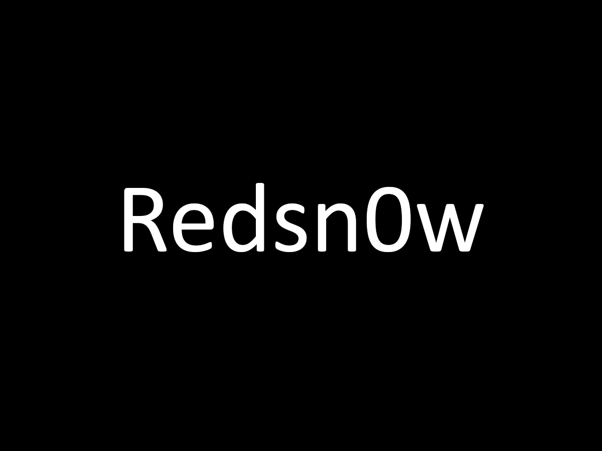 How to use redsn0w to unlock iphone and bypass icloud activation