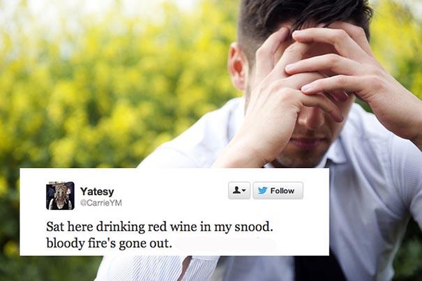 Twitter First-World Problems