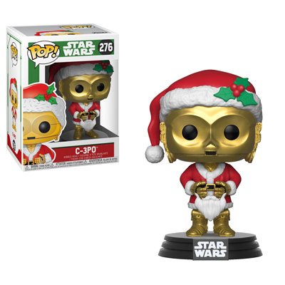 Pop! Star Wars - Holiday! c3po