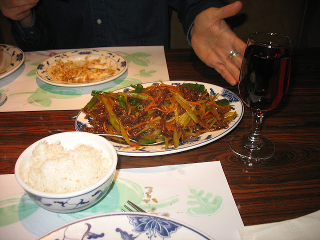 shredded beef done in the classic szechuan style delicious