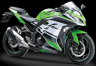 Gambar harga motor sport Kawasaki ninja 300
