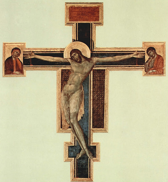 Crucificação de Donatello na basílica de Santa Cruz