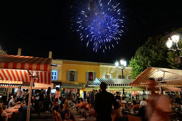 야외 오페라가 열리는 9월의 니스