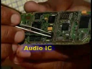 audio ic information jisse song bajate hai.