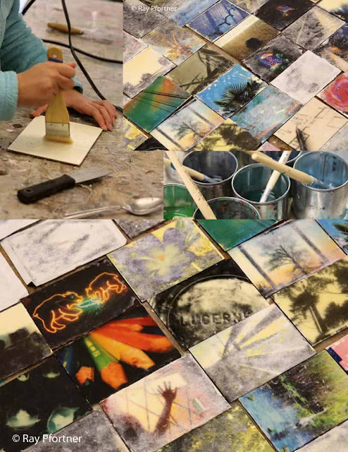 FREE DEMO & 1-DAY WORKSHOP: Encaustics-Transfers Onto Beeswax for All Art Mediums with RAY PFORTNER. Mar 4, 2017. 2-3:30pm. Apr 15, 2017. 1:30-5:30pm