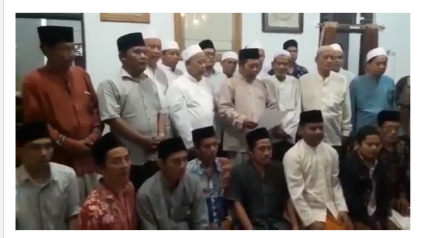 Pesantren Babakan Ciwaringin Cirebon Ingatkan agar tak Terprovokasi Gerakan Politik atasnama Bela Tauhid