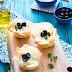 Griechische Feta Cheesecake Muffins im Filo Teig