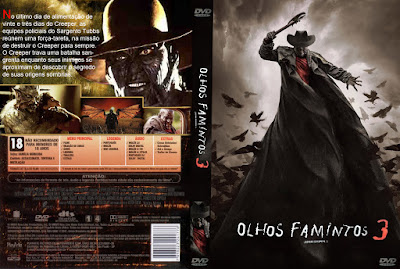 Filme Olhos Famintos 3 (Jeepers Creepers 3) DVD Capa