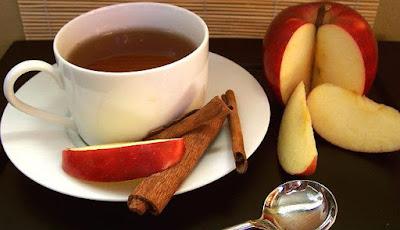 blog inspirando garotas chá de maçã