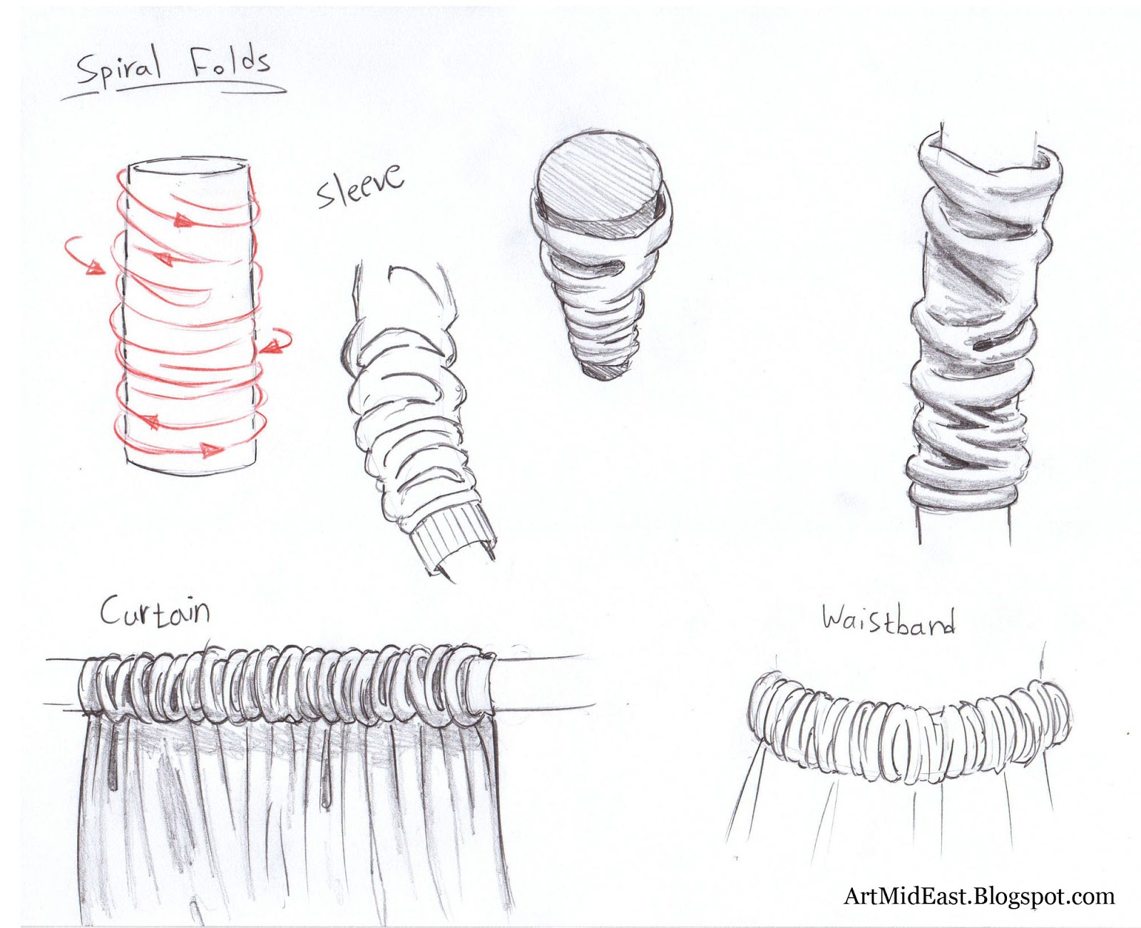 How To Draw Clothes And Folds