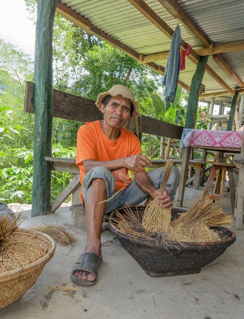 8th Wonder of the World Batad Rice Terraces Ifugao Cordillera Administrative Region Philippines Batad Rice Terraces Local Folk Farmer