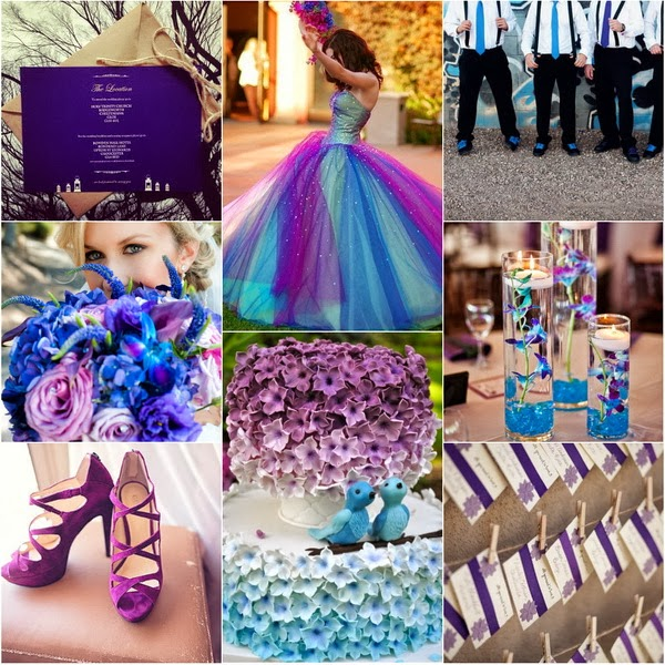 Peacolor Wedding Ideas: WDW (WEDDING DAY WEEKLY ) BLOGGING FOR BRIDES: Peacock