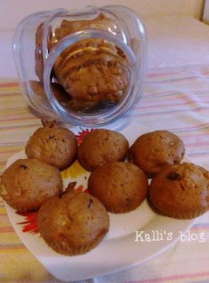 Μπισκότα ή muffin μήλου