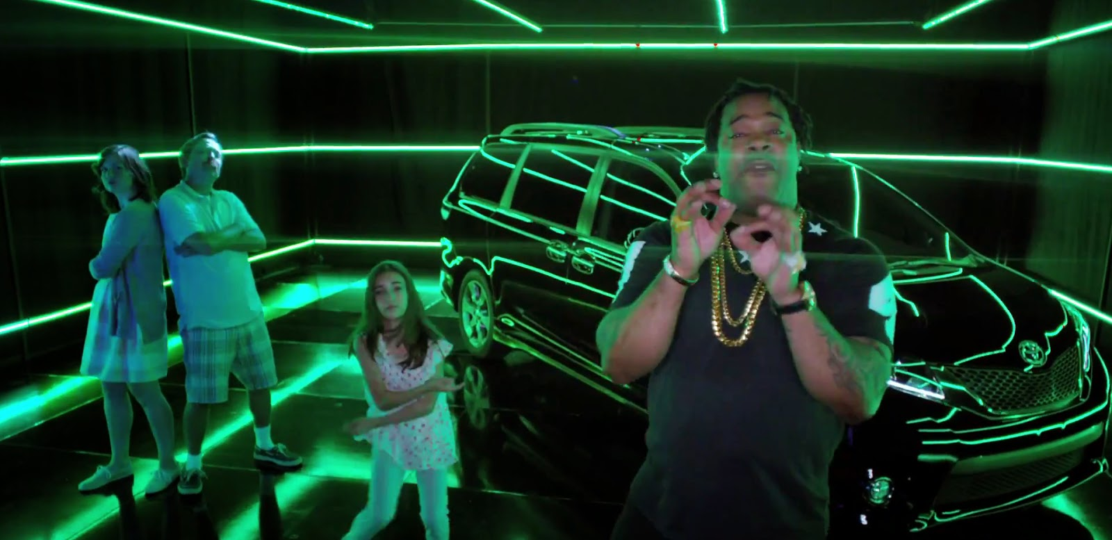 Busta Rhymes Features in Toyota Sienna 2015 Minivan Commercial