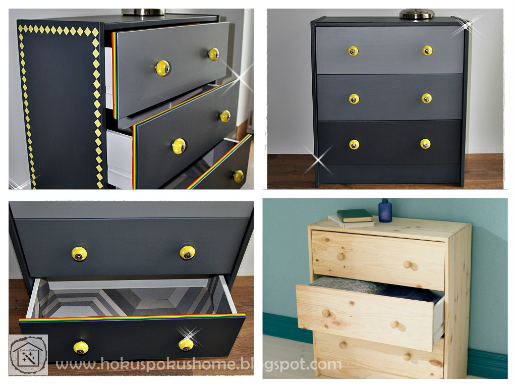 Ikea Rast hack makeover