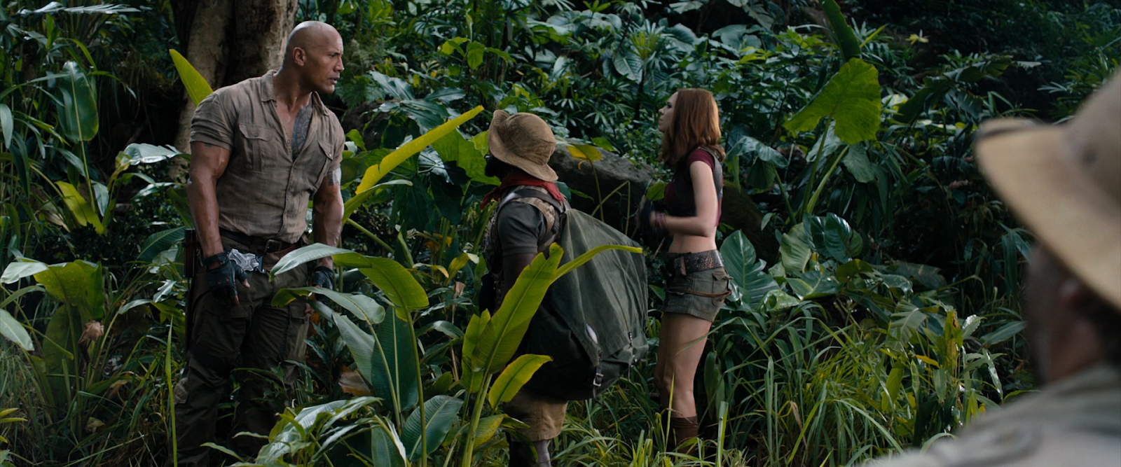 Jumanji: En la selva (2017) BRRip 1080p Latino-Ingles captura 2